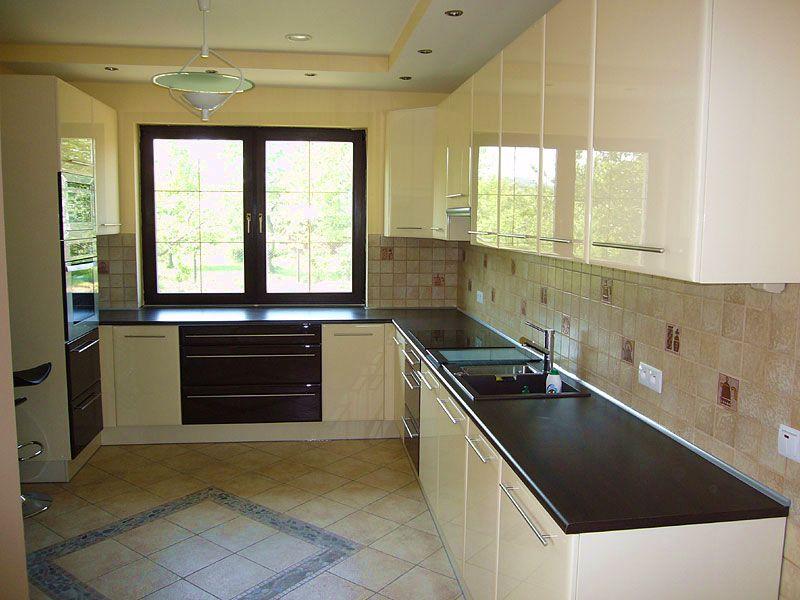 Дизайн кухни угловой с окном фото